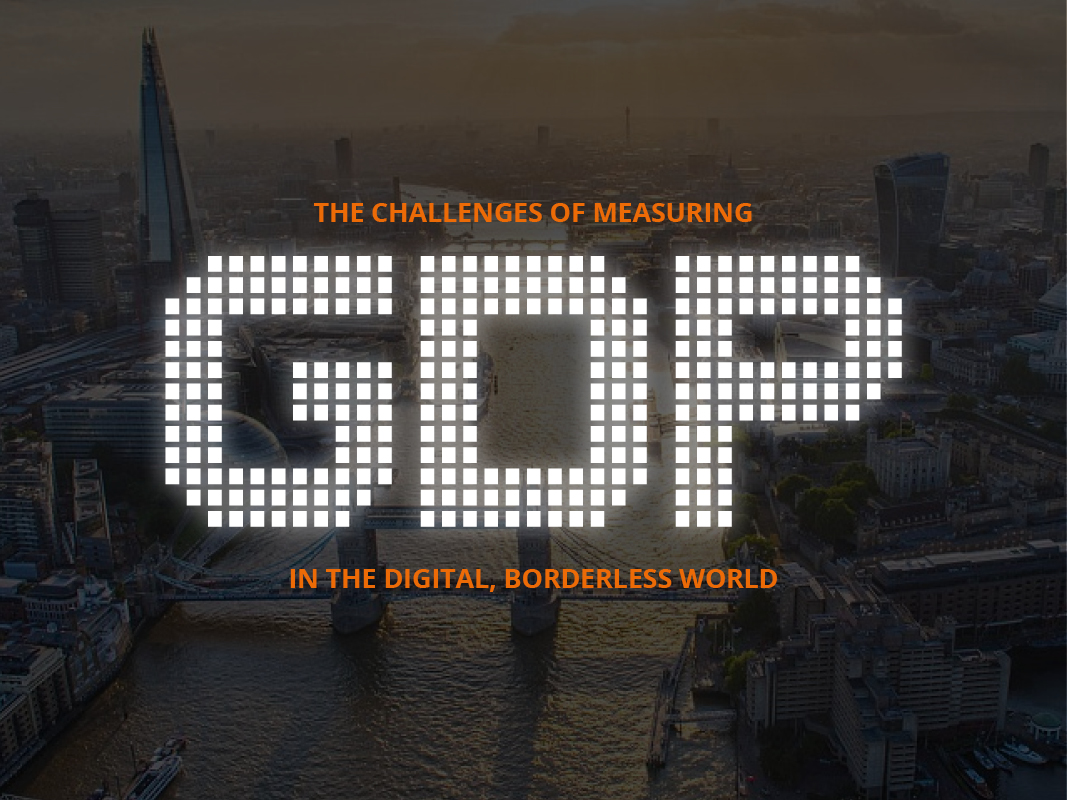 GDP in the borderless world